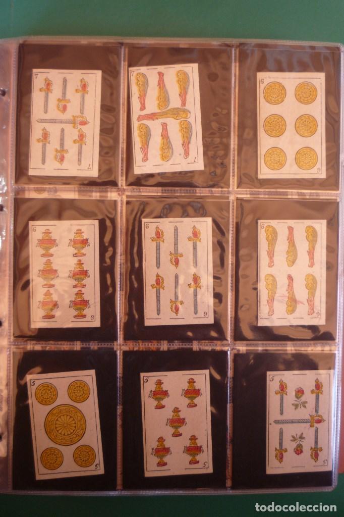 Barajas de cartas: BARAJA 'LA MADRILEÑA' DE G. ESTRADA, MADRID. AÑO 1870. 40 NAIPES TAMAÑO 7,3X4,7 CM. - Foto 3 - 160277022
