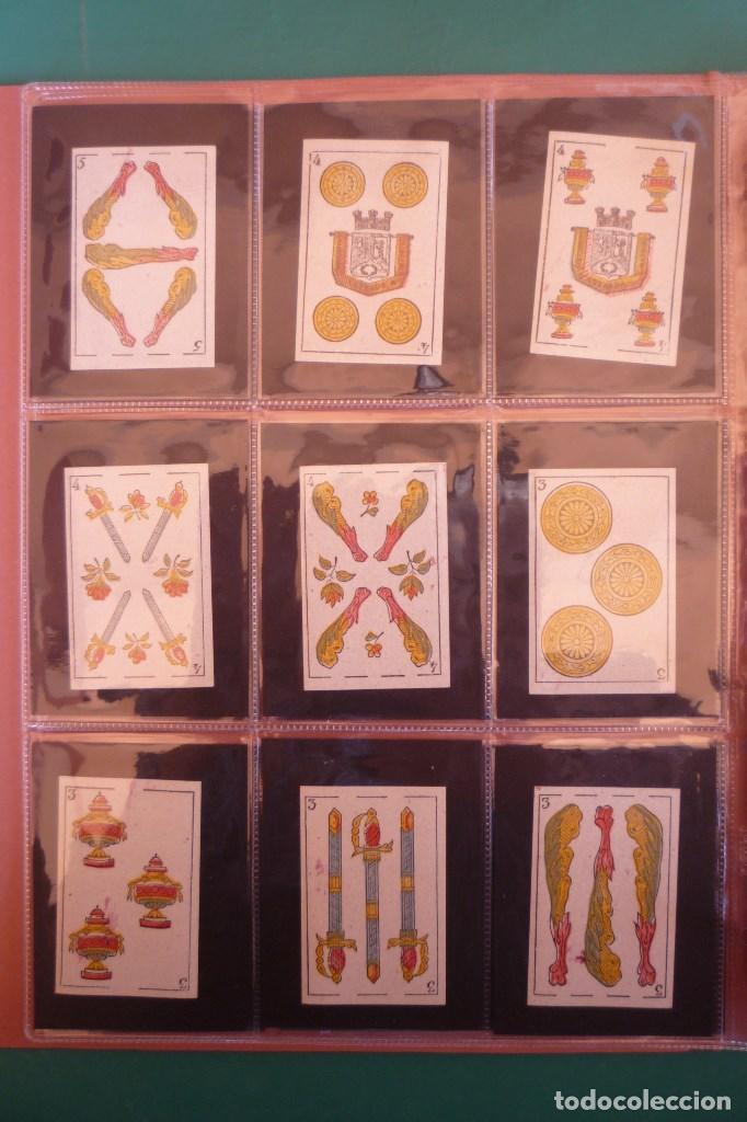 Barajas de cartas: BARAJA 'LA MADRILEÑA' DE G. ESTRADA, MADRID. AÑO 1870. 40 NAIPES TAMAÑO 7,3X4,7 CM. - Foto 4 - 160277022