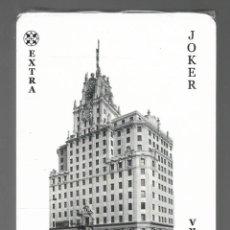 Barajas de cartas: BARAJA DE POKER EXTRA JOKER, PUBLICIDAD DE TELEFONICA. PRECINTADA.. Lote 160315230