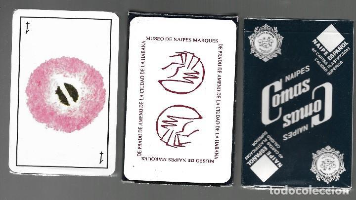 BARAJA, MUSEO DE NAIPES MARQUES DE PRADO DE AMENO DE LA CIUDAD DE LA HABANA. PRECINTADA. (Juguetes y Juegos - Cartas y Naipes - Baraja Española)