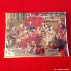 Barajas de cartas: DOS 2 JUEGOS DE NAIPES CARTAS, REALES SITIOS DE ESPAÑA, MADRID 2002, PRECINTADAS DE ORIGEN VER FOTOS. Lote 160378094