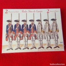 Barajas de cartas: DOS 2 JUEGOS DE NAIPES CARTAS, REALES SITIOS DE ESPAÑA, ALFONSO TACCOLI, TEATRO MILITAR DE ESUROPA. Lote 160378690