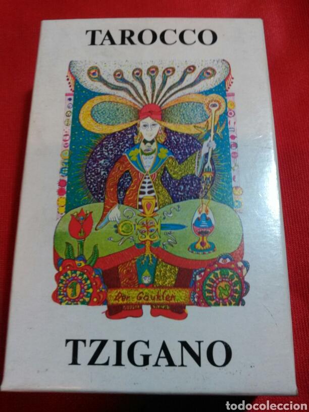 TZIGANO TAROCCO. TAROT GITANO. (Juguetes y Juegos - Cartas y Naipes - Barajas Tarot)