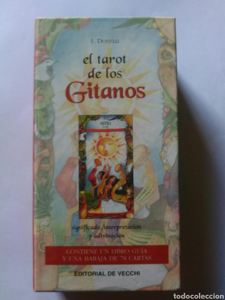 TAROT DE LOS GITANOS. DESCATALOGADO (Juguetes y Juegos - Cartas y Naipes - Barajas Tarot)