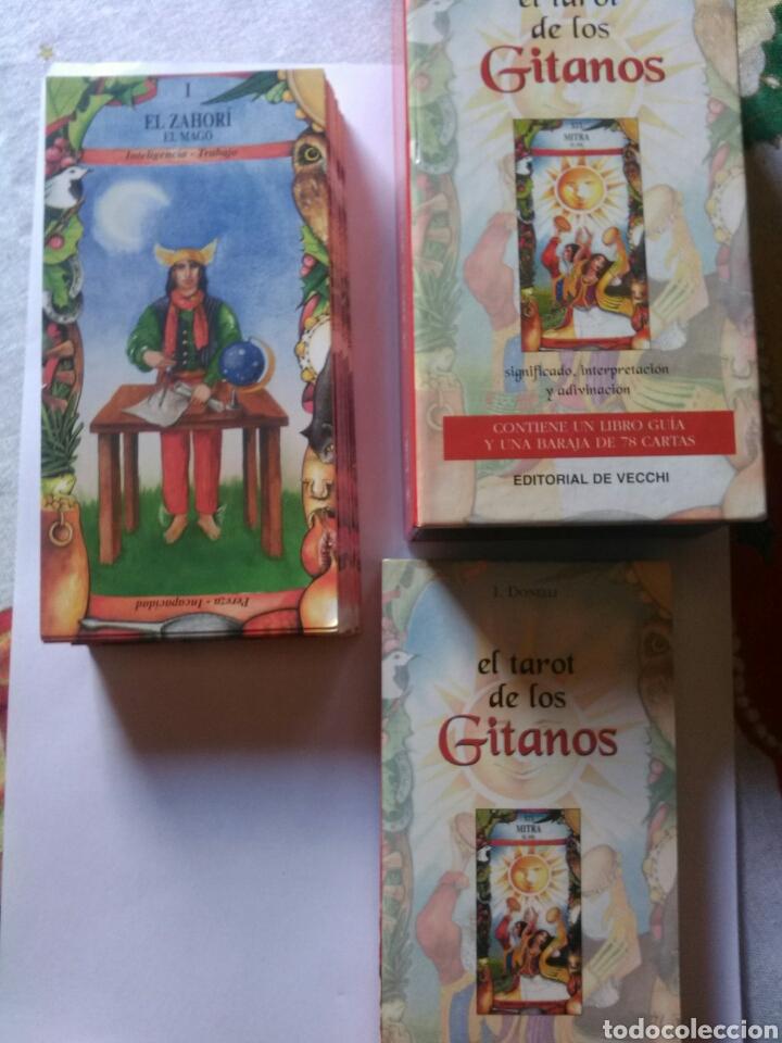 Barajas de cartas: Tarot de los Gitanos. DESCATALOGADO - Foto 2 - 160464517