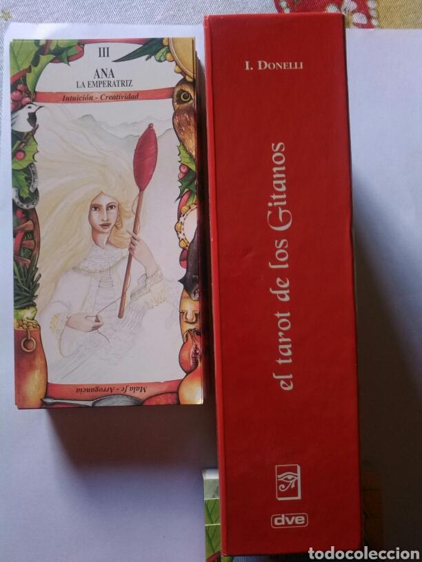 Barajas de cartas: Tarot de los Gitanos. DESCATALOGADO - Foto 4 - 160464517