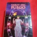 Barajas de cartas: TAROT DEL FUEGO.. Lote 160471957