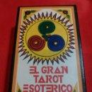 Barajas de cartas: GRAN TAROT ESOTÉRICO.PRECINTADO. NUEVO.. Lote 160473954