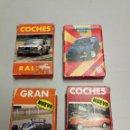Barajas de cartas: HERACLIO FOURNIER 4 BARAJA COCHES TURISMO, TURISMOS TOP, RALLY Y GRAN PRIX COMPLETAS AÑOS 1984-87-88. Lote 160508370