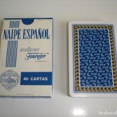 Barajas de cartas: BARAJA CARTAS HERACLIO FOURNIER: BCH BANCO CENTRAL HISPANO - 40 NAIPES - NUEVA SIN USO. Lote 160517826