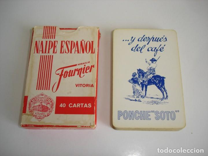 BARAJA CARTAS, HERACLIO FOURNIER - PONCHE SOTO. 40 NAIPES. (Juguetes y Juegos - Cartas y Naipes - Baraja Española)