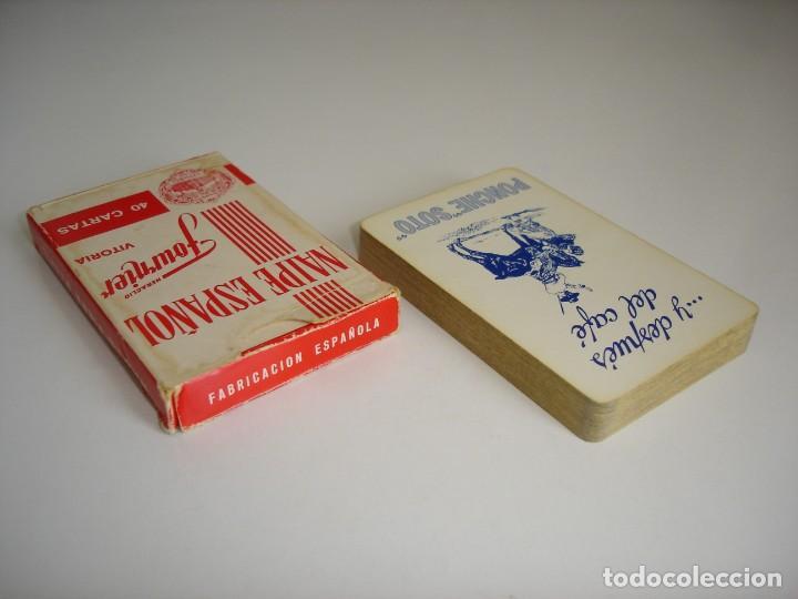 Barajas de cartas: BARAJA CARTAS, HERACLIO FOURNIER - PONCHE SOTO. 40 NAIPES. - Foto 2 - 160519514