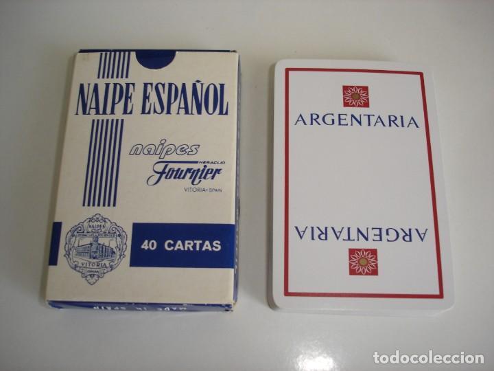 BARAJA CARTAS HERACLIO FOURNIER: ARGENTARIA - 40 NAIPES - NUEVA SIN USO (Juguetes y Juegos - Cartas y Naipes - Baraja Española)