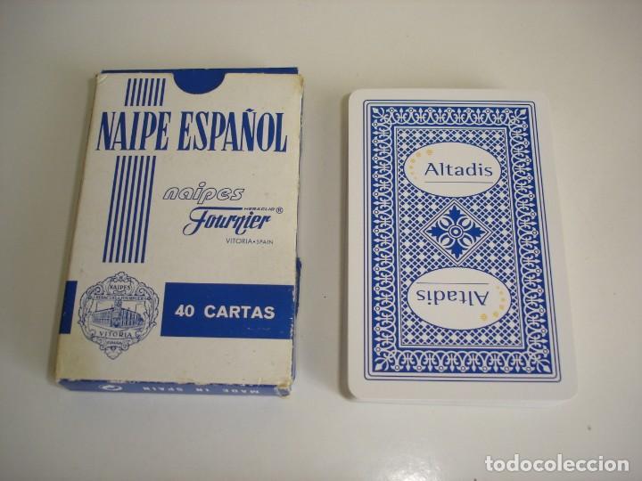 BARAJA CARTAS HERACLIO FOURNIER: ALTADIS - 40 NAIPES - NUEVA SIN USO (Juguetes y Juegos - Cartas y Naipes - Baraja Española)