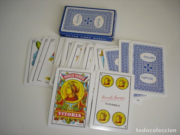 Barajas de cartas: BARAJA CARTAS HERACLIO FOURNIER: ALTADIS - 40 NAIPES - NUEVA SIN USO - Foto 2 - 160522070