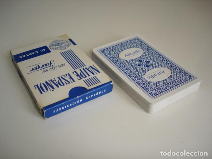 Barajas de cartas: BARAJA CARTAS HERACLIO FOURNIER: ALTADIS - 40 NAIPES - NUEVA SIN USO - Foto 3 - 160522070