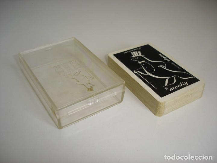 Barajas de cartas: BARAJA CARTAS POKER, NAIPES FOURNIER: CAMISAS DE LUJO MECKY - 53 NAIPES. - Foto 3 - 160524450