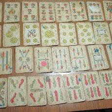 Barajas de cartas: ANTIGUA BARAJA ESPAÑOLA NAIPES GUARRO, BARCELONA. Lote 160606466