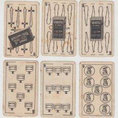 Barajas de cartas: ANTIGUAS CARTAS, BARAJA ESPAÑOLA, DR. DOCTOR GRAU. Lote 160609794