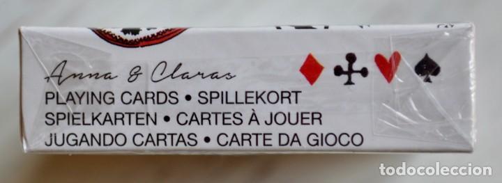 Barajas de cartas: Baraja nueva y precintada de CARTAS - NAIPES - PÓKER, de ANNA & CLARA. - Foto 6 - 160627654