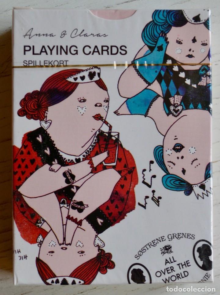 BARAJA NUEVA Y PRECINTADA DE CARTAS - NAIPES - PÓKER, DE ANNA & CLARA. (Juguetes y Juegos - Cartas y Naipes - Barajas de Póker)