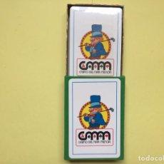 Barajas de cartas: BARAJA ESPAÑOLA. HERACLIO FOURNIER. CASINO DEL MAR MENOR (LA MANGA) 1980'S. ¡NUEVA! ORIGINAL. Lote 160686418
