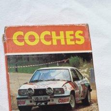 Barajas de cartas: JUEGO CARTAS COCHES RALLY. Lote 160700456