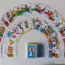 Mazzi di carte: LIBRERIA GHOTICA. BARAJA DE CARTAS JEU DE 7 FAMILLES. 1980.. Lote 160724466