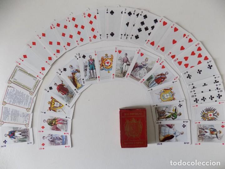 LIBRERIA GHOTICA. BARAJA NAPOLEON III. JEU IMPÉRIAL. SECOND EMPIRE.1980. (Juguetes y Juegos - Cartas y Naipes - Otras Barajas)