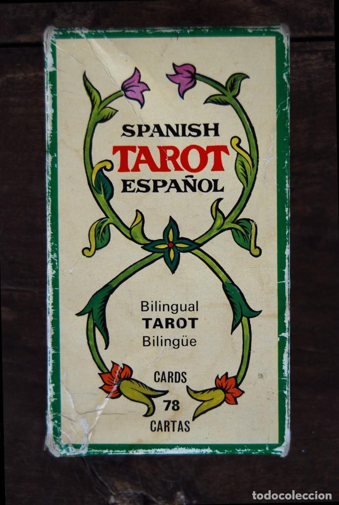 BARAJA CARTAS TAROT BILINGÜE FOURNIER COMPLETO CON 78 CARTAS Y INSTRUCCIONES. (Juguetes y Juegos - Cartas y Naipes - Barajas Tarot)