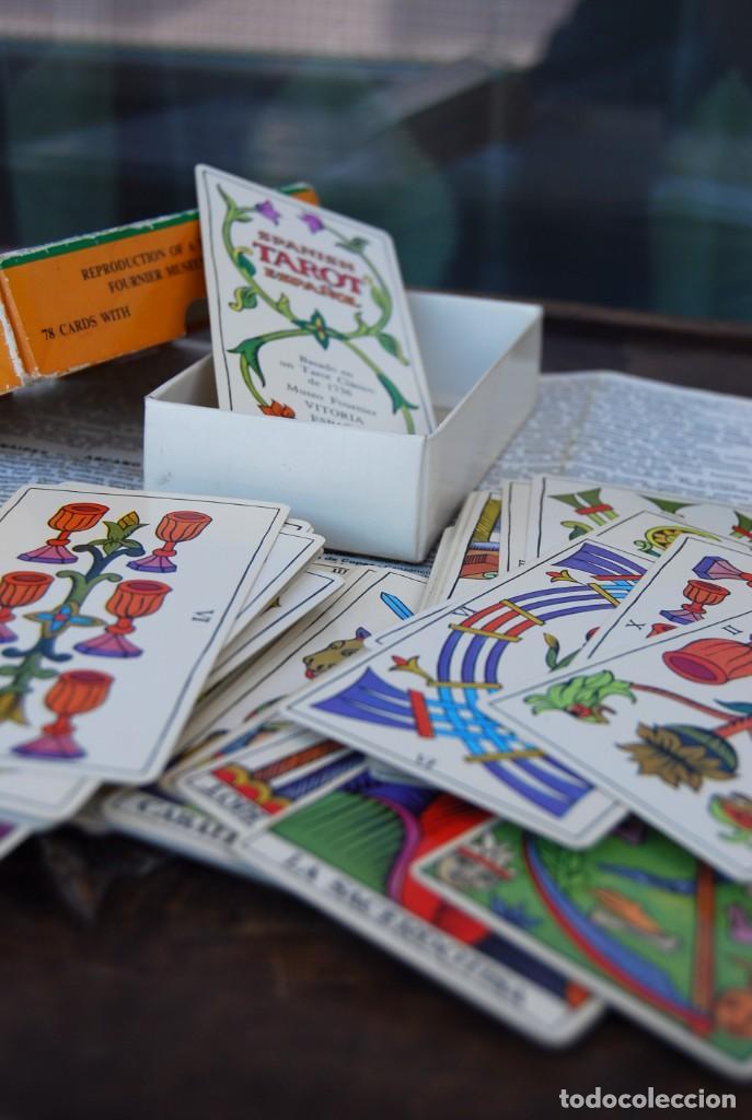 Barajas de cartas: BARAJA CARTAS TAROT BILINGÜE FOURNIER COMPLETO CON 78 CARTAS Y INSTRUCCIONES. - Foto 3 - 160728790