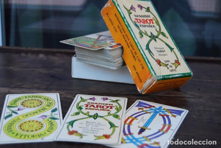 Barajas de cartas: BARAJA CARTAS TAROT BILINGÜE FOURNIER COMPLETO CON 78 CARTAS Y INSTRUCCIONES. - Foto 4 - 160728790