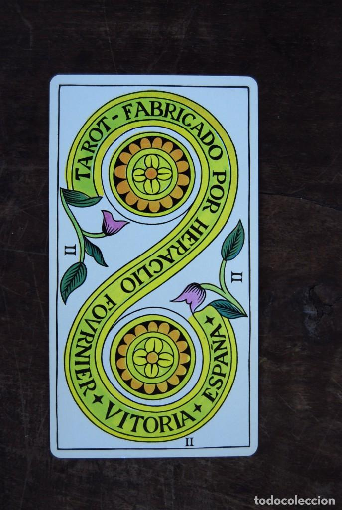 Barajas de cartas: BARAJA CARTAS TAROT BILINGÜE FOURNIER COMPLETO CON 78 CARTAS Y INSTRUCCIONES. - Foto 13 - 160728790