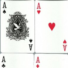 Barajas de cartas: BARAJA CHINA DE POKER - 52 CARTAS. Lote 160741082