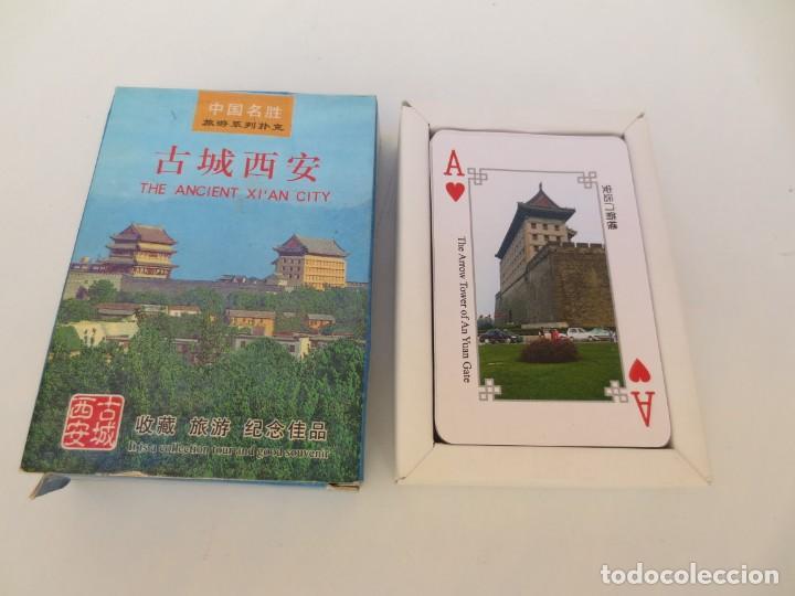BARAJA DE CARTAS DE LA ANTIGUA CIUDAD DE XIAN . (Juguetes y Juegos - Cartas y Naipes - Barajas de Póker)