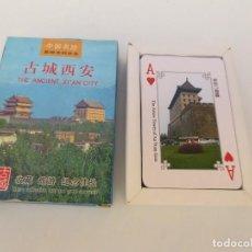 Barajas de cartas: BARAJA DE CARTAS DE LA ANTIGUA CIUDAD DE XIAN .. Lote 160774590