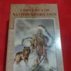 Barajas de cartas: NUEVO!! TAROT DE LOS NATIVOS AMERICANOS . PRECINTADO. Lote 160782433