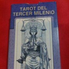 Barajas de cartas: TAROT DEL TERCER MILENIO. Lote 160785461