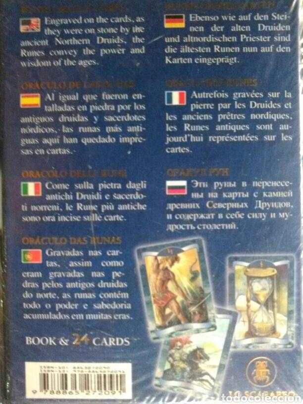Barajas de cartas: RUNAS ORÁCULO. CARTAS +LIBRO - Foto 2 - 160812162