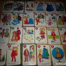Barajas de cartas: BARAJA INFANTIL CANDY CANDY ORIGINALES DE 1986 LOTE 23 CARTAS. Lote 160840078