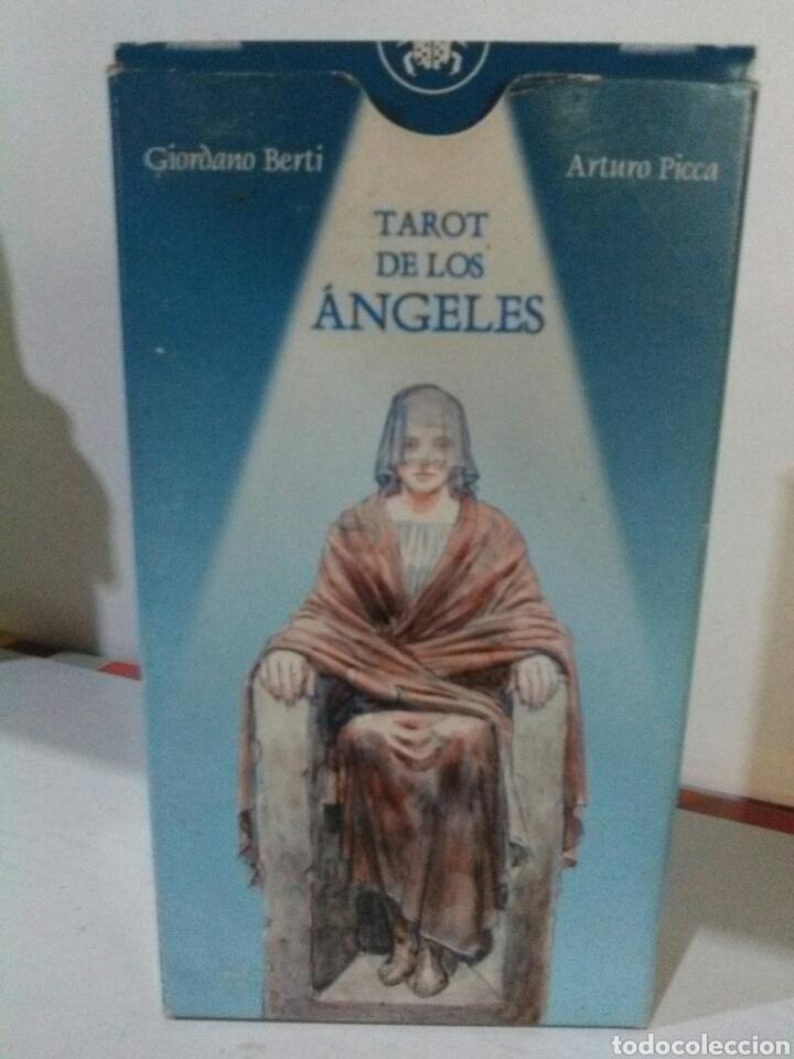 TAROT DE LOS ANGELES (Juguetes y Juegos - Cartas y Naipes - Barajas Tarot)