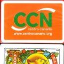 Barajas de cartas: CCN CENTRO CANARIO - BARAJA ESPAÑOLA 40 CARTAS. Lote 160861482
