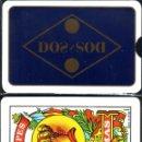 Barajas de cartas: DOS - BARAJA ESPAÑOLA 50 CARTAS. Lote 160861782
