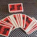Barajas de cartas: BARAJA DE CARTAS PUBLICIDAD OSBORNE DE HERACLIO FOURNIER MUY ANTIGUA. Lote 160882898