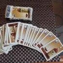 Barajas de cartas: BARAJA DE CARTAS PUBLICIDAD BRANDY FABULOSO DE HERACLIO FOURNIER MUY ANTIGUA. Lote 160883262