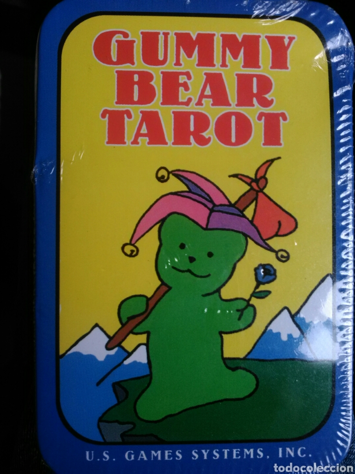 GUMMY BEAR TAROT. (Juguetes y Juegos - Cartas y Naipes - Barajas Tarot)