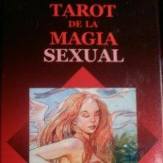 Barajas de cartas: NUEVO!! TAROT DE LA MAGIA SEXUAL. LAURA TUAN.. Lote 160918106