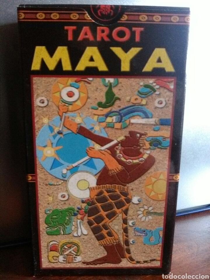 TAROT MAYA. (Juguetes y Juegos - Cartas y Naipes - Barajas Tarot)