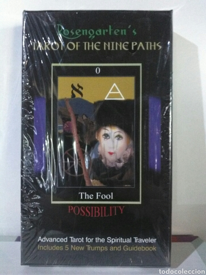 TAROT OF THE NINE PATHS. (Juguetes y Juegos - Cartas y Naipes - Barajas Tarot)