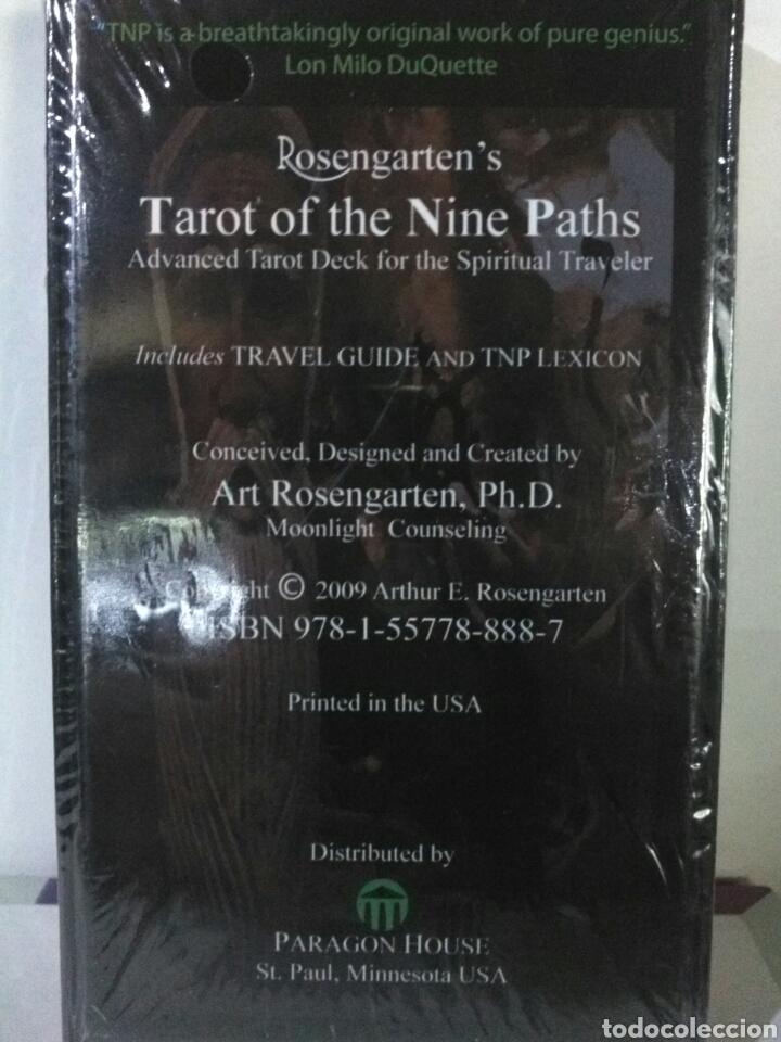 Barajas de cartas: TAROT OF THE NINE PATHS. - Foto 2 - 160992504